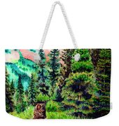 Grizzly Country Weekender Tote Bag