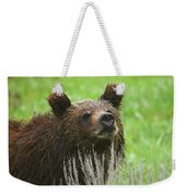 Grizzly Cub Weekender Tote Bag