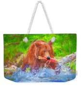 Grizzly Delights Weekender Tote Bag