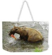 Grizzly Great Catch Weekender Tote Bag