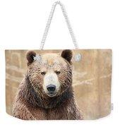 Grizzly Portrait Weekender Tote Bag