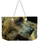 Grizzly Profile Weekender Tote Bag
