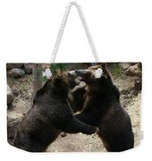 Grizzly Waltz Weekender Tote Bag