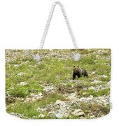 Grizzly Watching People Watching Grizzly No. 2 Weekender Tote Bag