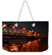 Grosse Ile Bridge  Weekender Tote Bag