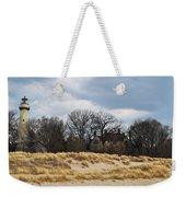 Grosse Point Lighthouse Weekender Tote Bag