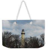 Grosse Point Lighthouse Portrait Weekender Tote Bag