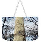 Grosse Point Lighthouse Winter Weekender Tote Bag