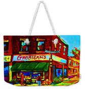 Grosterns Market Weekender Tote Bag