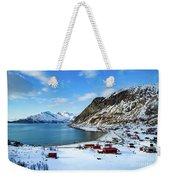 Grotfjord Norway Weekender Tote Bag
