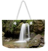 Grotto Falls Great Smoky Mountains Weekender Tote Bag by Jemmy Archer