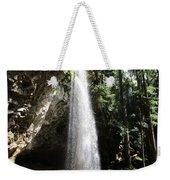 Grotto Falls Perspective Weekender Tote Bag