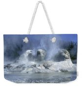 Grotto Geyser - Yellowstone National Park Weekender Tote Bag
