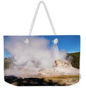 Grotto Geyser Eruption And Spray Weekender Tote Bag