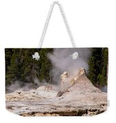 Grotto Geyser Eruption Two Weekender Tote Bag