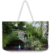Grotto Of Our Lady Of Lourdes Weekender Tote Bag
