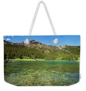 Grotto Pond Canmore Alberta Weekender Tote Bag