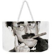 Groucho Marx, Vintage Comedy Actor Weekender Tote Bag