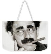 Groucho Marx, Vintage Comedy Actor Weekender Tote Bag