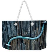 Copper Ground Wire On Utility Pole Weekender Tote Bag