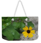Grounded Sunflower Weekender Tote Bag