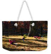 Groundhog Hill Cemetery Weekender Tote Bag