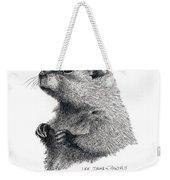 Groundhog Or Woodchuck Weekender Tote Bag