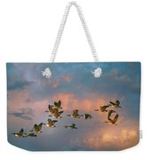 Group Flight Weekender Tote Bag