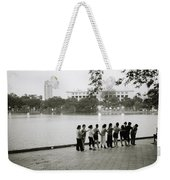 Group Massage Weekender Tote Bag