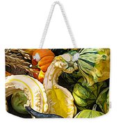 Group Of Gourds Expressionist Effect Weekender Tote Bag