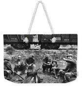 Group Of Hoboes, 1920s Weekender Tote Bag