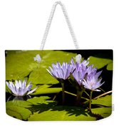 Group Of Lavender Lillies Weekender Tote Bag