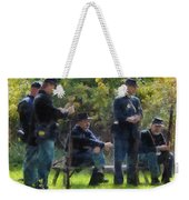 Group Of Union Soldiers Weekender Tote Bag