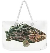 Grouper Fish Weekender Tote Bag