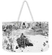 Grouse Hunting, 1887 Weekender Tote Bag