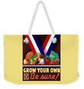 Grow Your Own Victory Garden Weekender Tote Bag
