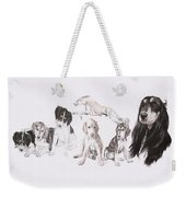 Growing Up Saluki Weekender Tote Bag