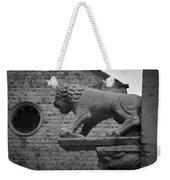 Growling At The Threat Weekender Tote Bag