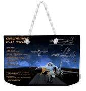 Grumman F-11 Tiger Weekender Tote Bag