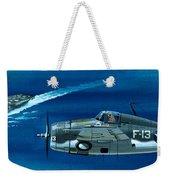 Grumman F4rf-3 Wildcat Weekender Tote Bag