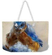 Grumpy Bird Weekender Tote Bag