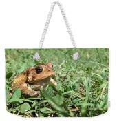 Grumpy Toad Weekender Tote Bag