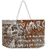 Grunge Background Weekender Tote Bag by Carlos Caetano