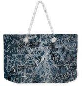 Grunge Background I Weekender Tote Bag by Carlos Caetano