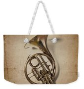 Grunge French Horn Weekender Tote Bag