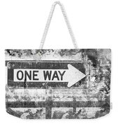 Grunge One Way Weekender Tote Bag