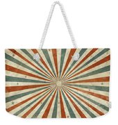 Grunge Ray Retro Design Weekender Tote Bag