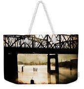 Grunge River Weekender Tote Bag