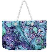 Grunge Sea Coral Abstract Weekender Tote Bag