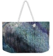 Grunge Texture Blue Ugly Rough Abstract Surface Wallpaper Stock Fused Weekender Tote Bag